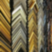 Our wall of frame mouldings