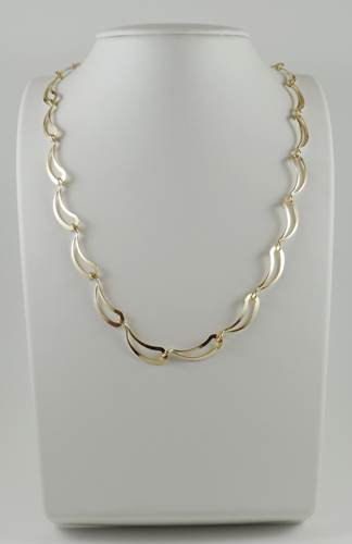 Necklace: Gold-filled  2JA49,50