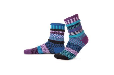 "Crew Socks: ""Raspberry"""