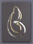 Earring - Sterling Silver/Gold Filled Hoop             JR-502