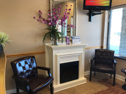 White Orchid Dental Reception