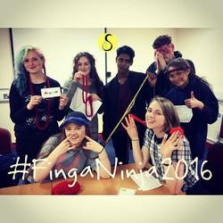 #FingaNinja2016 & a team of teen volunte