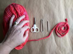 Finger knitting tools
