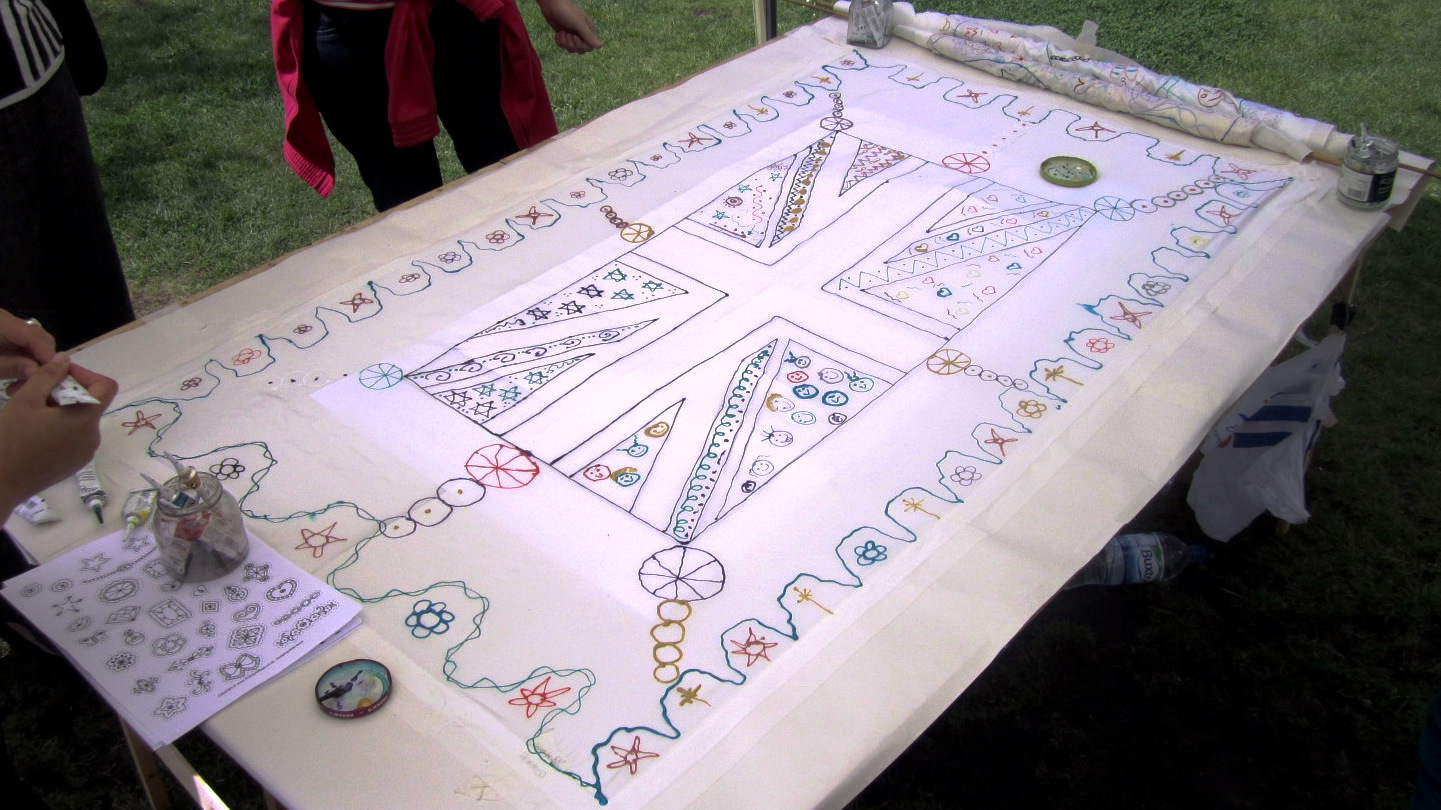 Community Silk Painting