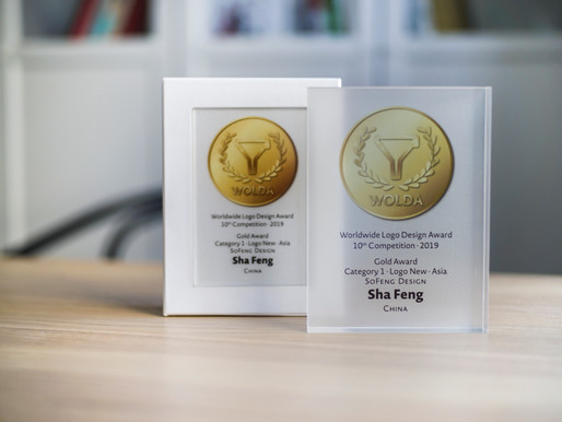 SoFeng Design won the Gold Award of the 10th Worldwide Logo Design Award 2019