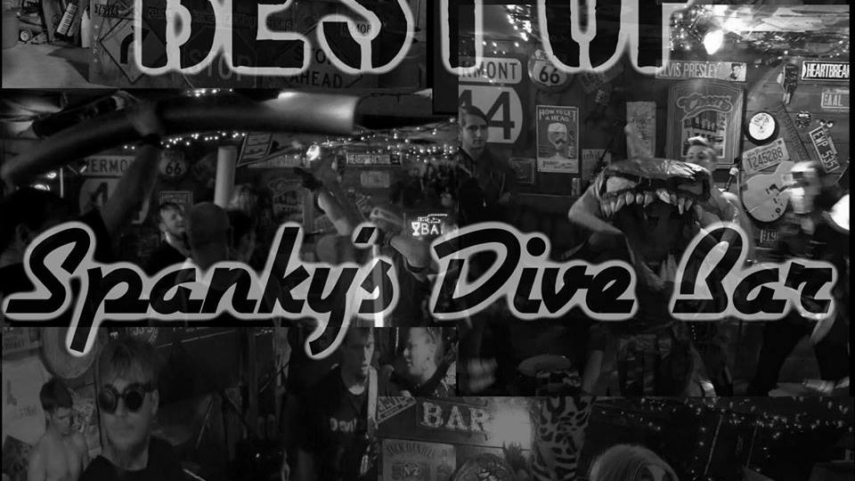 BEST OF SPANKY'S DIVE BAR - (2010 to 2017) CD