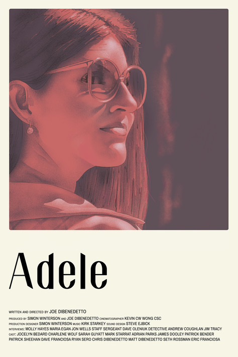 Adele documentary poster