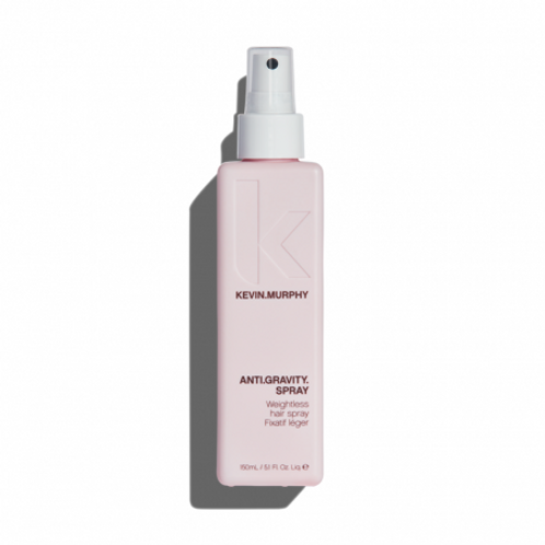 Spray fixant anti-gravite