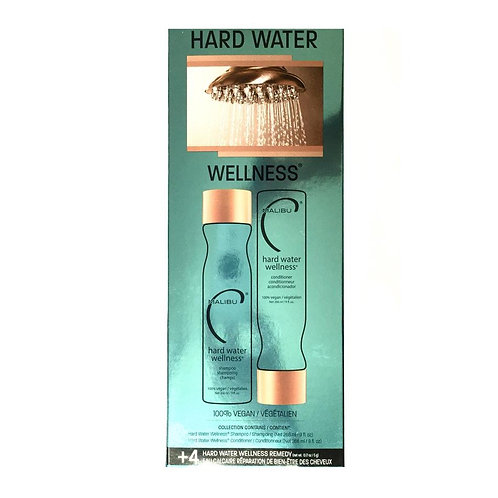 Wellness hard water shampoing+après shampoing