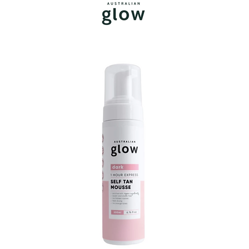 Australian glow mousse de bronzage