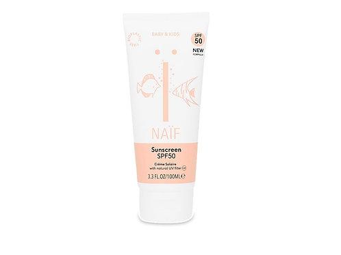 NAÏF Baby Crème Solaire SPF 50