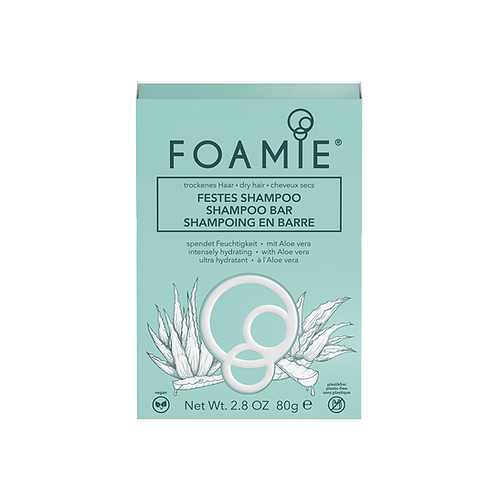 Shampoing solide en barre Foamie Cheveux secs