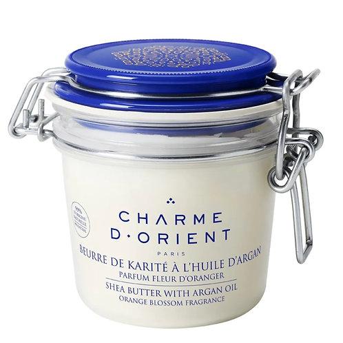 Beurre de karité à l'huile d'argan