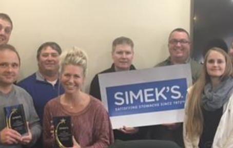 2016 Simek's Special Achievement Awards