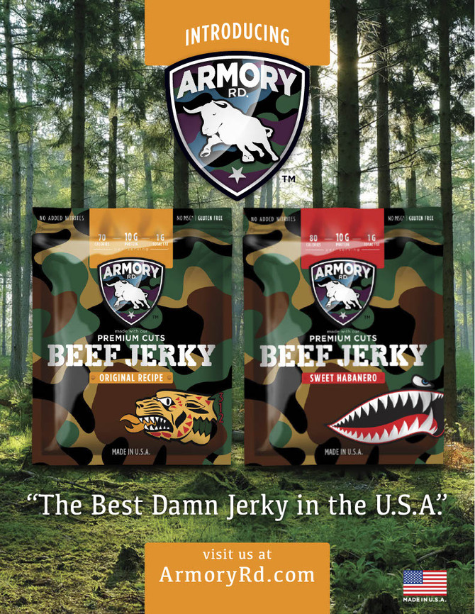 Introducing Armory Roads Beef Jerky