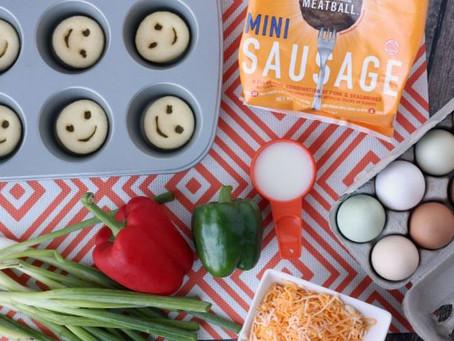 Simek's Mini Meatball Omelette Recipe