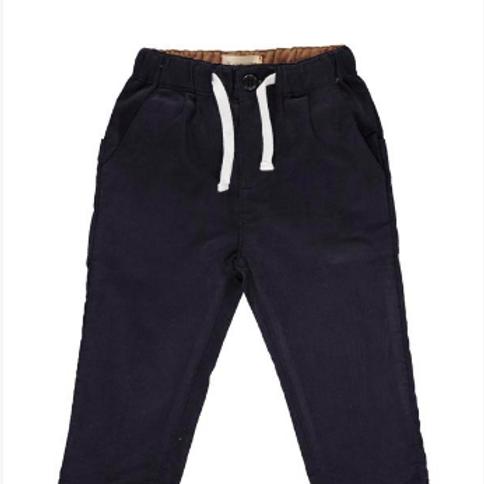 Navy Cord Pants