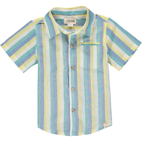 Pier Collard Short Sleeve Shirt