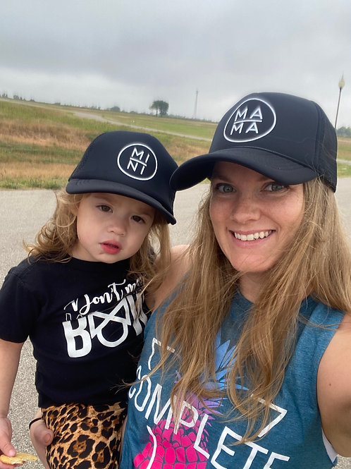 Mama, Dada, Mini Family Trucker Hat