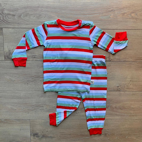 Holly Stripe Long Sleeve Set