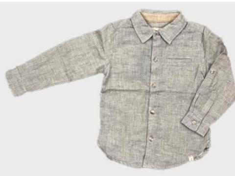 Grey Gauze Shirt