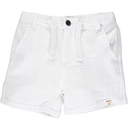 Crew Gauze Shorts - White