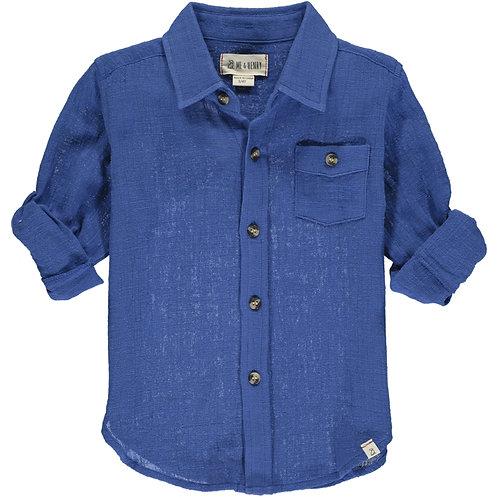 Merchant Long Sleeve Gauze Shirt
