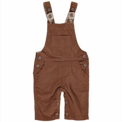 Brown Cord Overall Pant