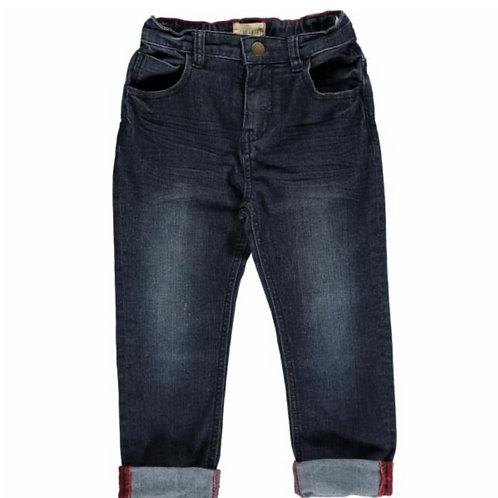 Mark Navy Denim Jeans - Toddler