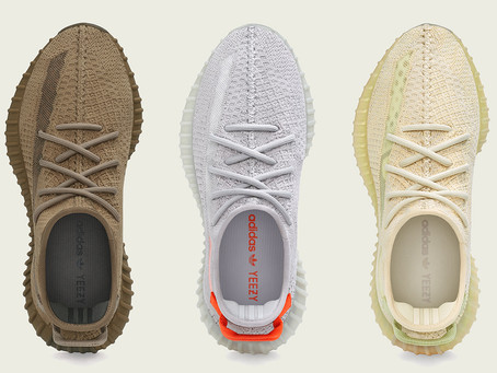 Region Specific Yeezy Boost  350 v2 Earth,Tail Light, Flax