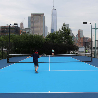 Hudson River Park Tennis Courts