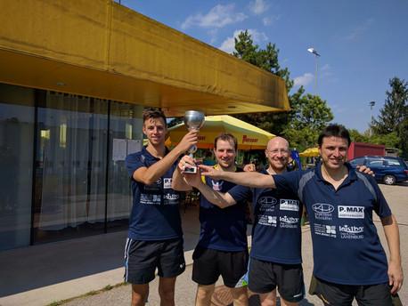 Sieg beim Hauer-Cup