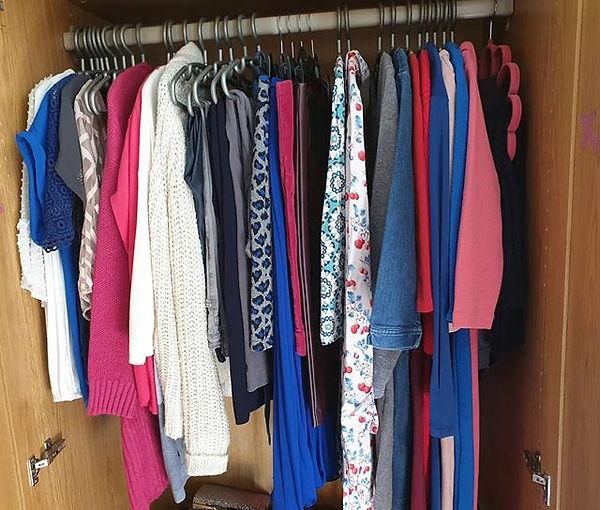 I've just been doing my own wardrobe det