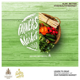 Mountain View Farmers Market Campaign
