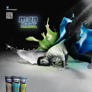 Man Look - Hair Gel Campaign