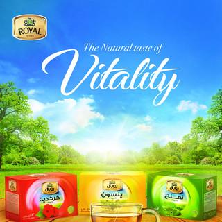 Royal Herbs Vitality Campaign
