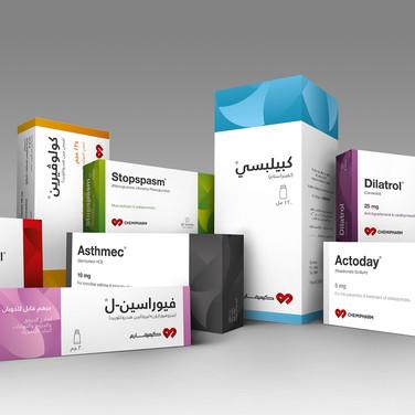 Chemipharm Branding