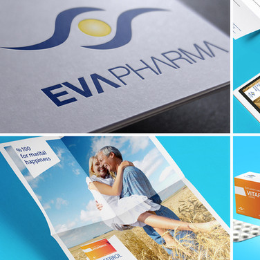 EVA Pharma Branding