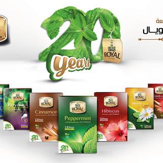Royal Herbs Branding