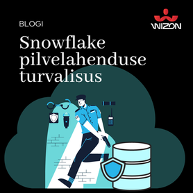 Turvalisus pilveteenusena pakutavas Snowflake andmeaidas