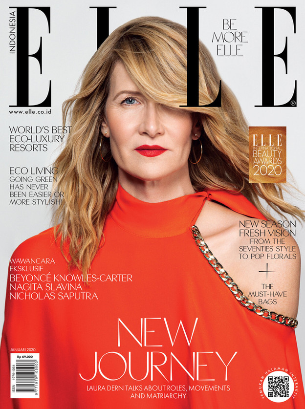 Laura Dern Elle Indonesia