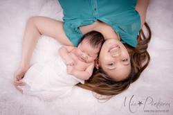Newborn Babyfotos so einmahlig
