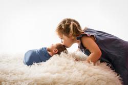 Baby Neugebornen Fotoshooting
