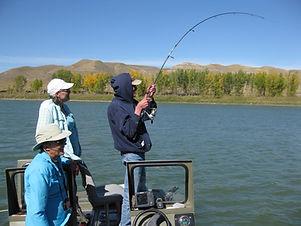 Calgary Alberta sturgeon fishing adventures