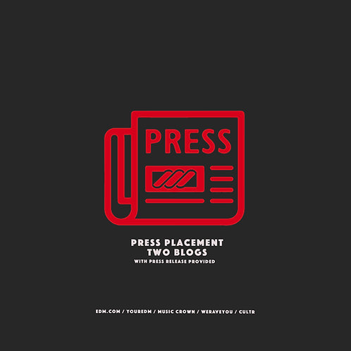 Press Placement (2 Blogs)