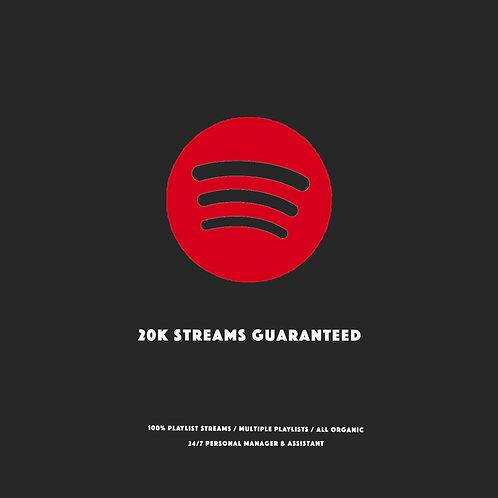 20K Streams Guaranteed