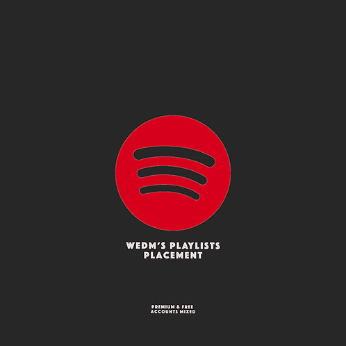 wEDM Playlists Placement