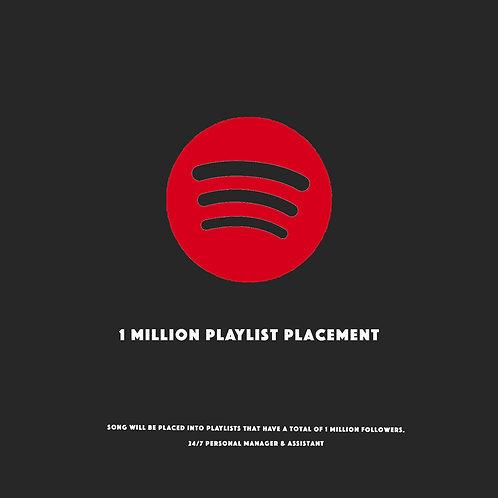 1mil Playlists Placement