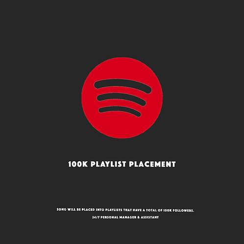 100K Playlists Placement