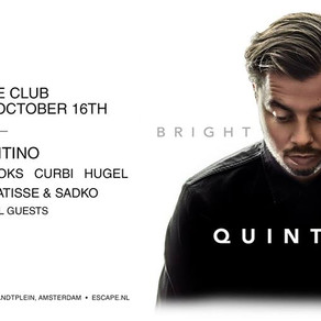 Quintino speaks about his touring life before solo ADE show